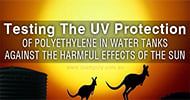 Testing the UV Protection of Polyethylene in Water Tanks Against the Harmful Effects of the Sun