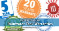 Understanding Rainwater Tank Warranties