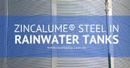 ZINCALUME® Steel in Rainwater Tanks